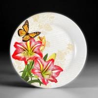 Узорное нанесение изображения на тарелки