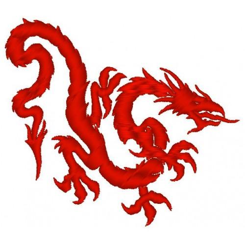 Вышивка Дракон3
