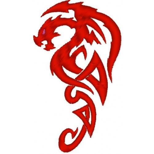 Вышивка Дракон4