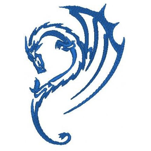 Вышивка Дракон2